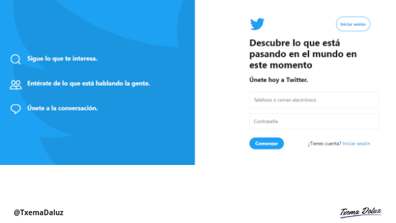 Twitter Blog txema Daluz
