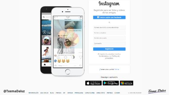 Instagram Blog Txema Daluz