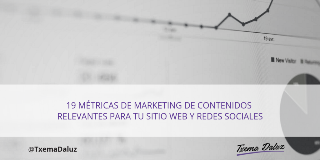 Metricas de marketing de contenidos