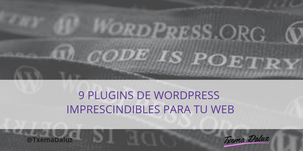 9 plugins wordpress