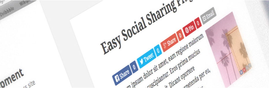 plugin easy social share